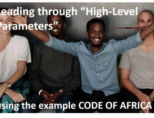 """Führen mit """"High-level Parameter"""""""